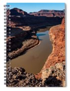 Dead Horse Point Colorado River Bend Spiral Notebook