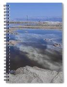 Dead Sea Landscape Spiral Notebook