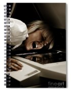 Deadly Duplications Spiral Notebook