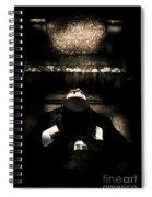 Deceased Man In Repose Spiral Notebook