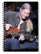 Guitarist Derek Trucks Spiral Notebook