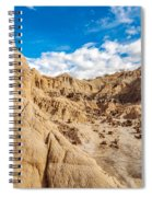 Desert And Blue Sky Spiral Notebook