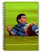 Diego Maradona 2 Spiral Notebook