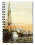 Discovery On The Banks Of The River Thames London Spiral Notebook