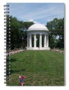 District Of Columbia War Memorial Spiral Notebook