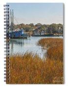 Dockside Paradise Spiral Notebook