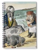 Dodgson: Looking Glass Spiral Notebook