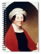 Dolley Payne Todd Madison (1768-1849) Spiral Notebook