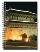 Dongdaemun Gate Landmark In Seoul South Korea Spiral Notebook