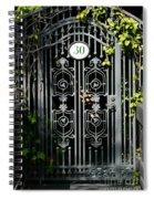 Door 30 Spiral Notebook
