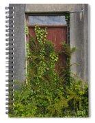Door Of Old House Spiral Notebook