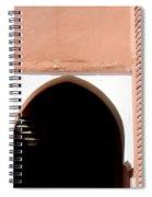 Doorway  Spiral Notebook