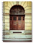 Double Door Spiral Notebook