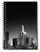 Downtown Los Angeles Spiral Notebook