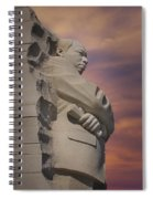 Dr. Martin Luther King Jr Memorial Spiral Notebook