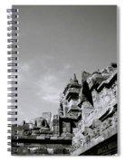 Dramatic Borobudur Spiral Notebook