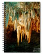 Draperies And Stalactites Spiral Notebook
