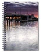 Drawbridge At Sunset Spiral Notebook