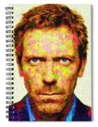 Dr. House - Maple Leaves Spiral Notebook