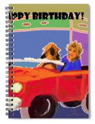 Driving Miss Daisy Spiral Notebook