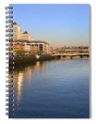 Dublin At Dawn Spiral Notebook