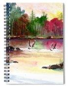 Duck Lake Spiral Notebook