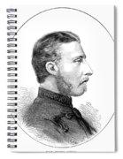 Duke Of Connaught (1850-1942) Spiral Notebook