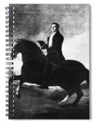 Duke Of Wellington (1769-1852) Spiral Notebook
