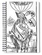 Durer: Syphilitic, 1496 Spiral Notebook