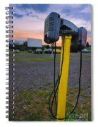 Dusk At The Drive In Movie Spiral Notebook