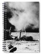 Dust Bowl, 1935 Spiral Notebook