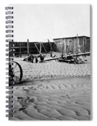 Dust Bowl, C1936 Spiral Notebook