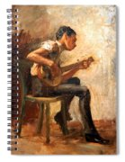 Eakins' Study For Negro Boy Dancing -- The Banjo Player Spiral Notebook