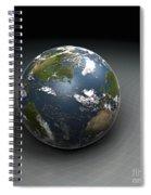 Earths Gravity Spiral Notebook