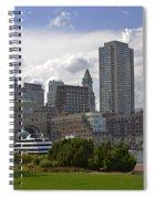 East Boston Harbor Spiral Notebook