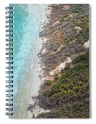 East Coast Aerial Near Jekyll Island Spiral Notebook