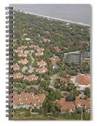 East Coast Georgia Spiral Notebook