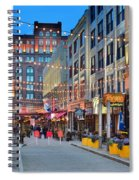 East Fourth Street In Cleveland Spiral Notebook