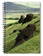 Easter Island 17 Spiral Notebook