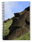 Easter Island 18 Spiral Notebook