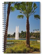 Echo Park L A  Spiral Notebook