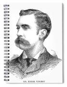 Edgar Vincent (1857-1941) Spiral Notebook