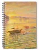 El Nido Sunrise Spiral Notebook