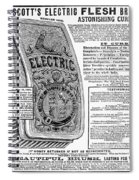 Electric Brush, 1882 Spiral Notebook