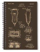 Electric Razor Patent 1940 Spiral Notebook