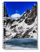 Emerald Lake In Rocky Mountain National Park Spiral Notebook