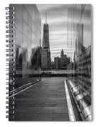 Empty Sky Memorial And The Freedom Tower Spiral Notebook