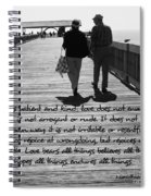Endless Love  Spiral Notebook