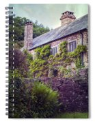 English Cottage Spiral Notebook