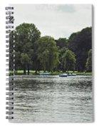 English Garden Munich Germany Spiral Notebook
